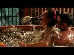 ฉากxxxหนังโป๊จีนแนวโบราณ คนตัดฟืนข่มขืนคุณหนูในอ่างอาบน้ำ เย็ดกันมันมาก นางเอกนมสวยโคตรน่าเย็ด
