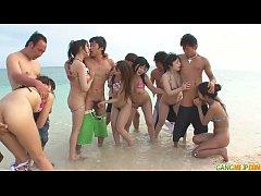 JavHD2019 ปาร์ตี้เซ็กริมทะเลสุดฟินจัดพวกสาวๆงานV มาเย็ดหีในหาดส่วนตัวสวิงกิ้งกันมั่วไปหมดเด็ดมาก