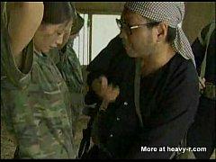 av japan สองทหารหญิงญี่ปุ่นพลาดท่าเจอโจรป่าจับได้โดนมัดเชือกขึงรุมเย็ดรุมโทรม พร้อมแตกใน น่าสงสาร