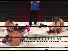 av japanese นักมวยปล้ำเย็ดกันโชว์บนสนามกลางเวที เย็ดกัน3คู่ นัวเนียนกันเสียงครางลั่น ท่ามกลางคนดู