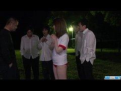 นักเรียนสาวญี่ปุ่นสุดร่านควย มาแหกหีชวนครูหนุ่มกับรุ่นพี่รุมเย็ดหี 5ต่อ1กลางดึก