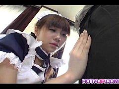 AVเสียวๆ2021 เย็ดหีคนใช้สาว NATSUMI KONNO เจ้านายเงี่ยนก็ต้องบริการให้